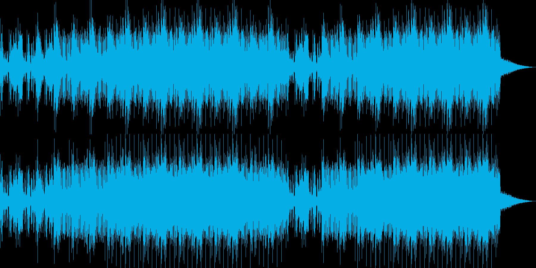 オーガニックなチルアウトBGMの再生済みの波形
