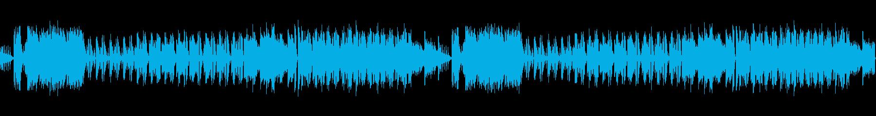 桜春琴和風ポップループ音源の再生済みの波形