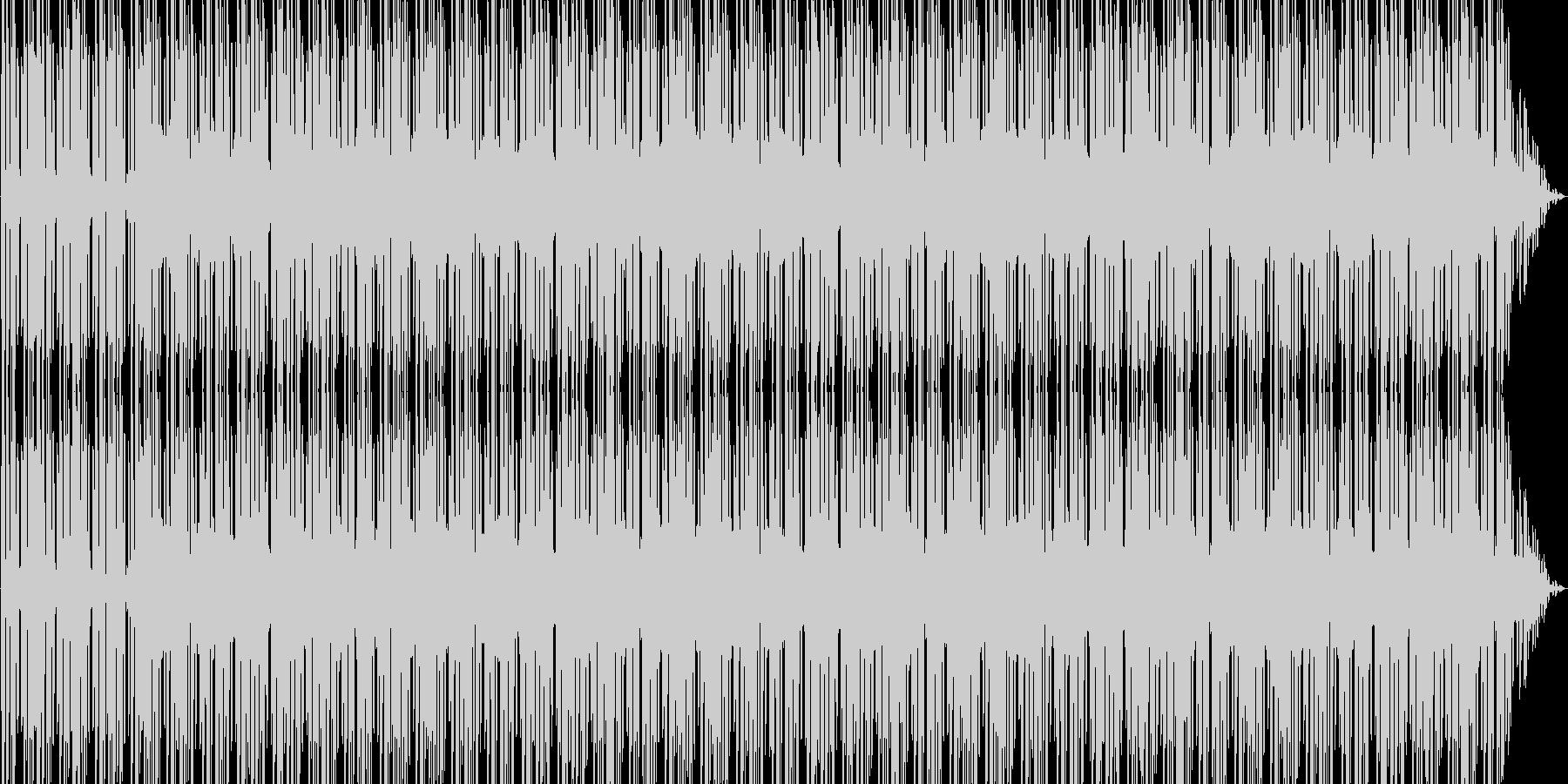 エンディングなどの未再生の波形