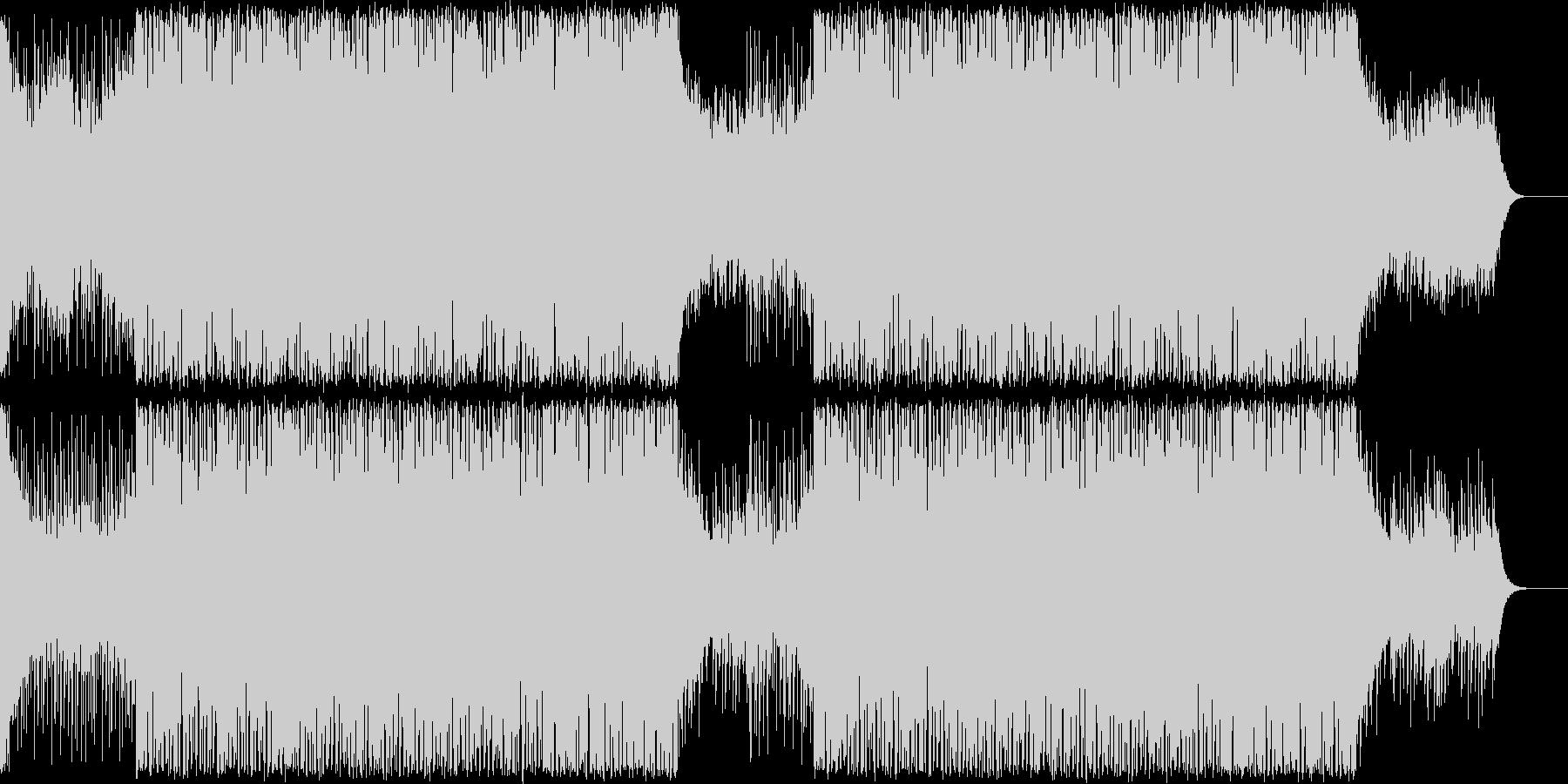 切ないメロディのEDM/トロピカルハウスの未再生の波形