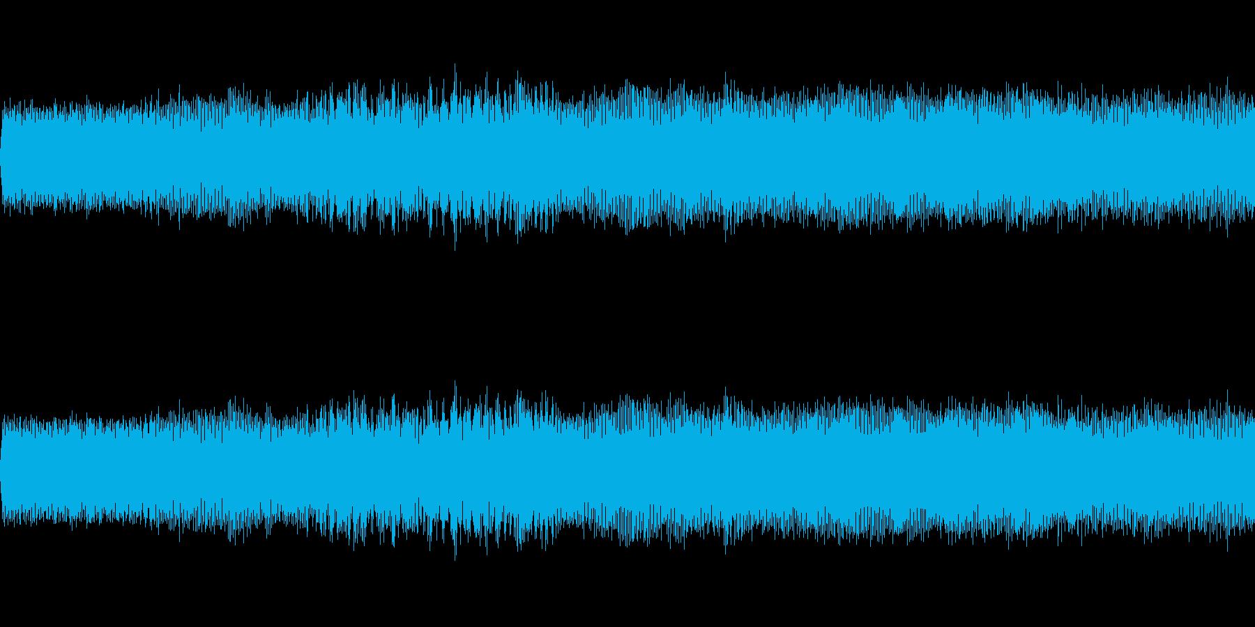 普通乗用車のアイドリングの再生済みの波形