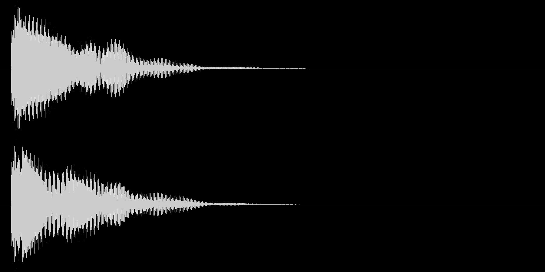 汎用 近未来系02(単) カーソル移動の未再生の波形