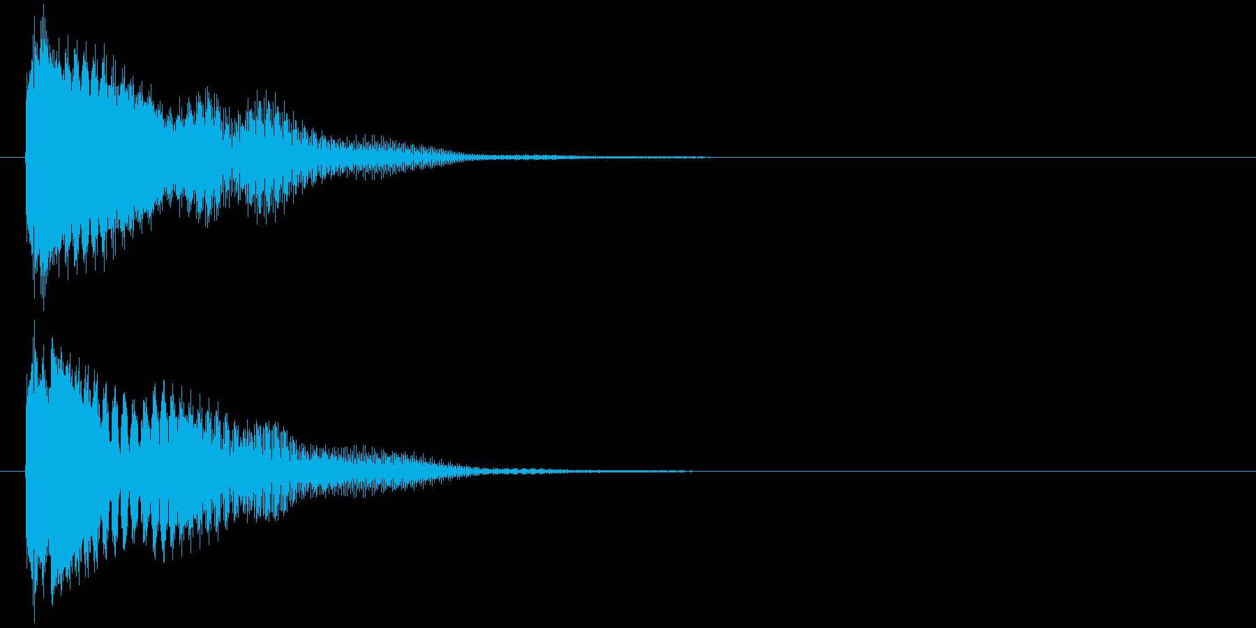 汎用 近未来系02(単) カーソル移動の再生済みの波形