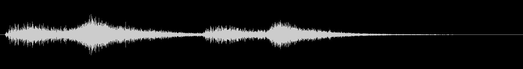 オーケストラでジャジャン ジャジャン2の未再生の波形