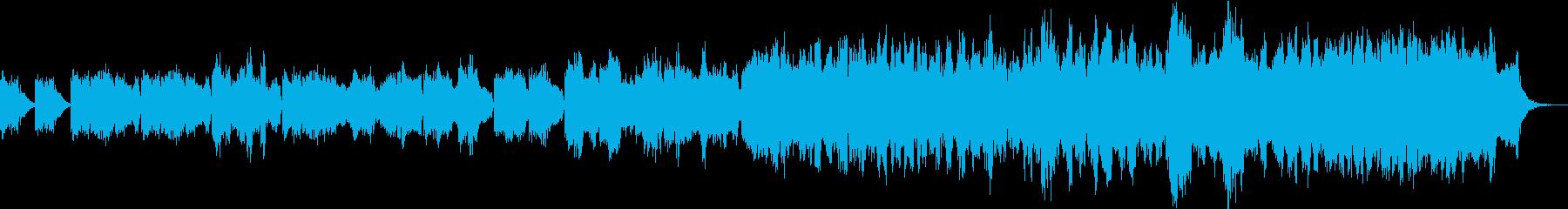 厳かで寂しげなBGM2 ループの再生済みの波形