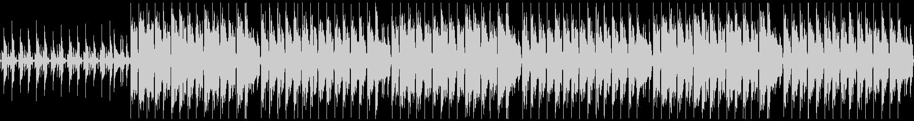 ハッピーなウクレレBGM ループ仕様の未再生の波形