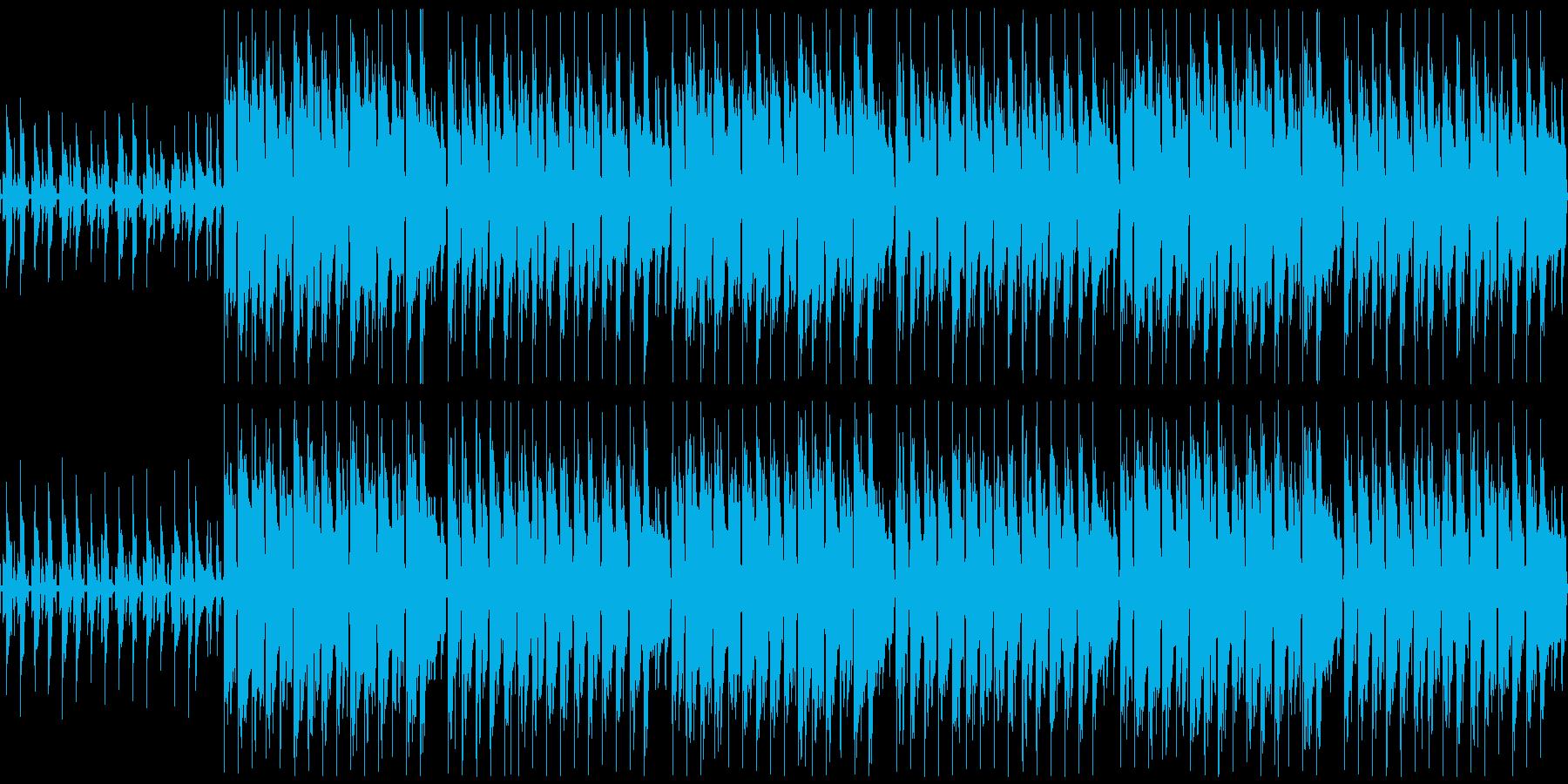 ハッピーなウクレレBGM ループ仕様の再生済みの波形