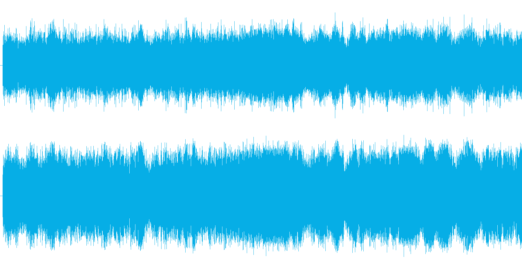 ドイツの都市間輸送列車ICの走行音の再生済みの波形