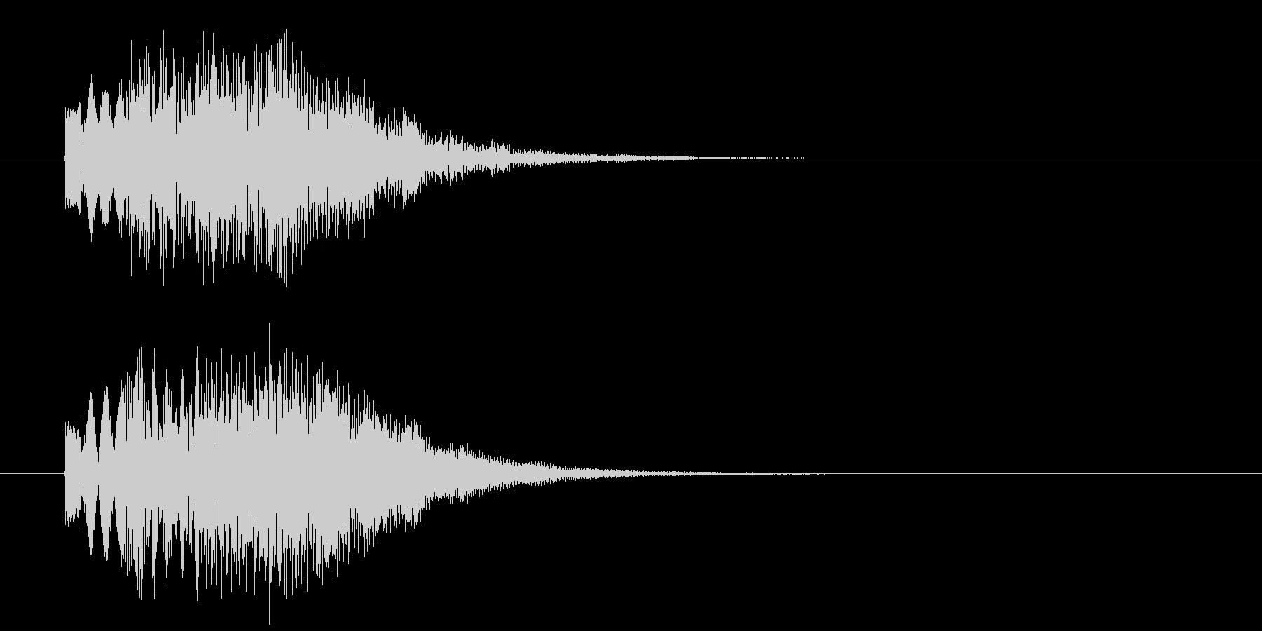 お知らせ音_m0235の未再生の波形