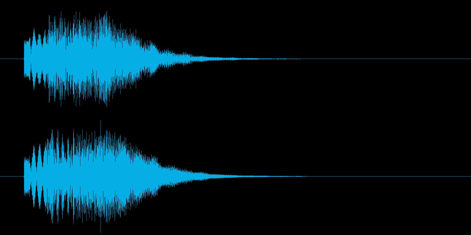 お知らせ音_m0235の再生済みの波形