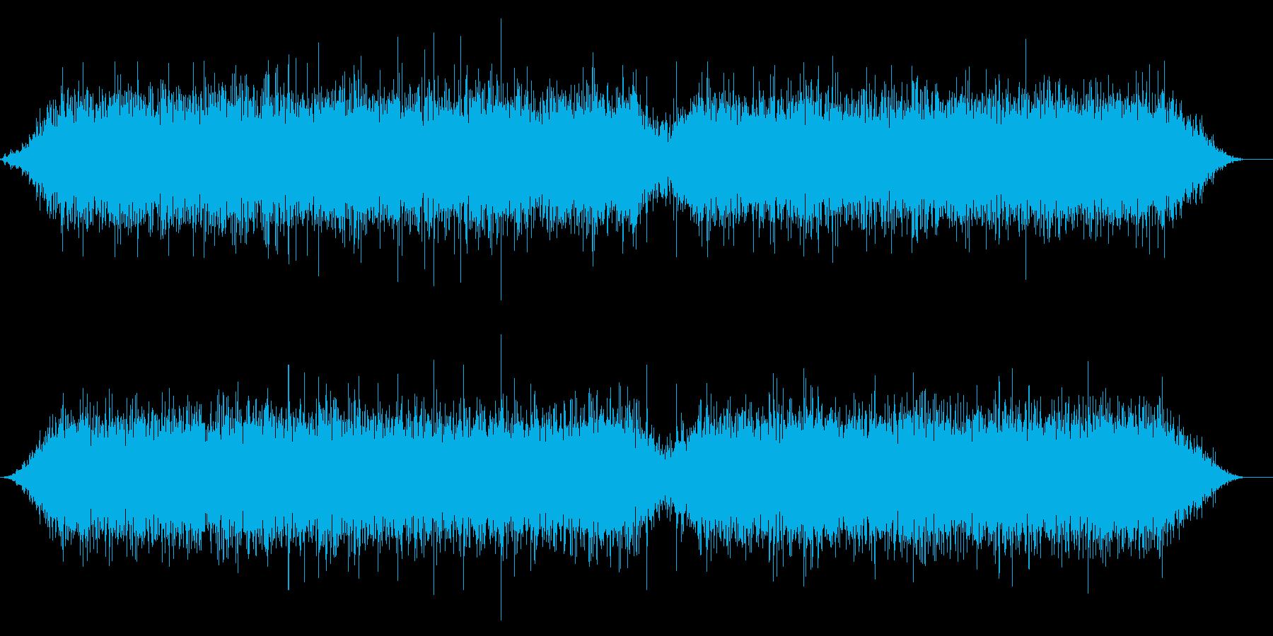 深海2 プクプク 水中 長め 生物の音の再生済みの波形