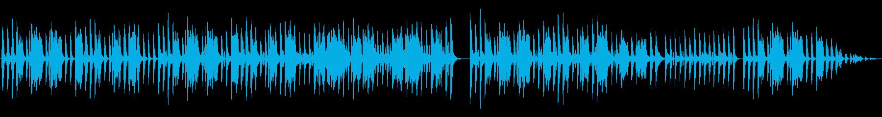 散歩に行きたい口笛曲の再生済みの波形