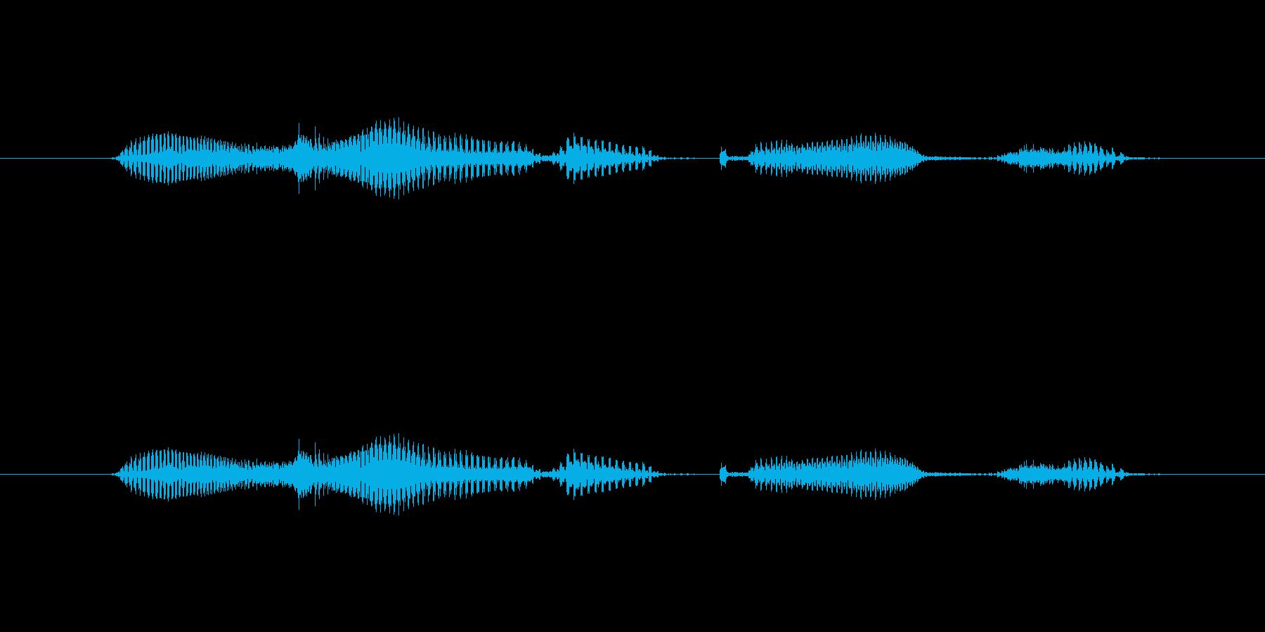 【日】26日の再生済みの波形