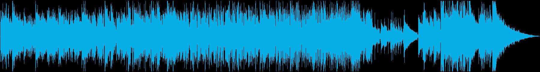 オーガニックなオープニング感・アコギの再生済みの波形