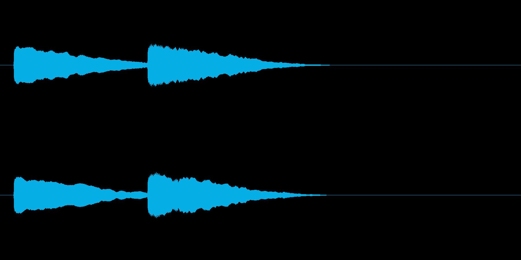 【ショートブリッジ19-1】の再生済みの波形