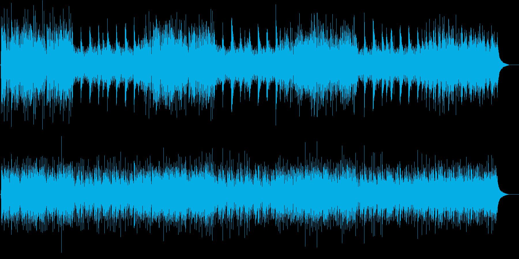 爽やかなチェンバロとアコギ バロック 朝の再生済みの波形