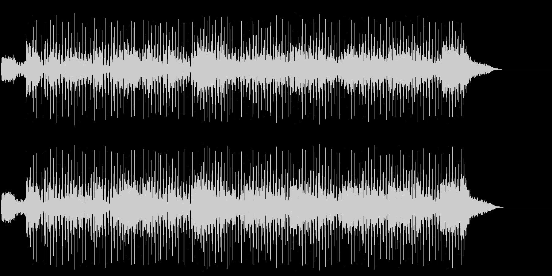 しっとりしたハイセンスなポップ/BGの未再生の波形