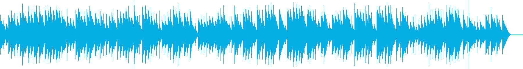 アヴェ・ヴェルム・コルプス(オルゴール)の再生済みの波形