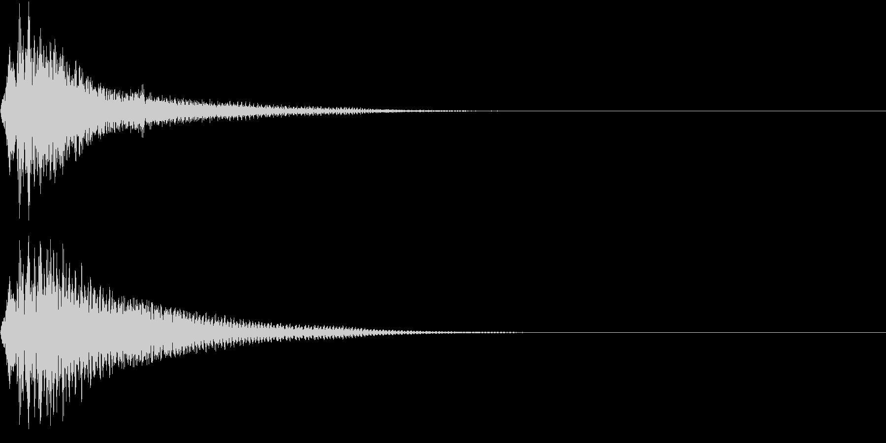 KAKUGE 格闘ゲーム戦闘音 52の未再生の波形