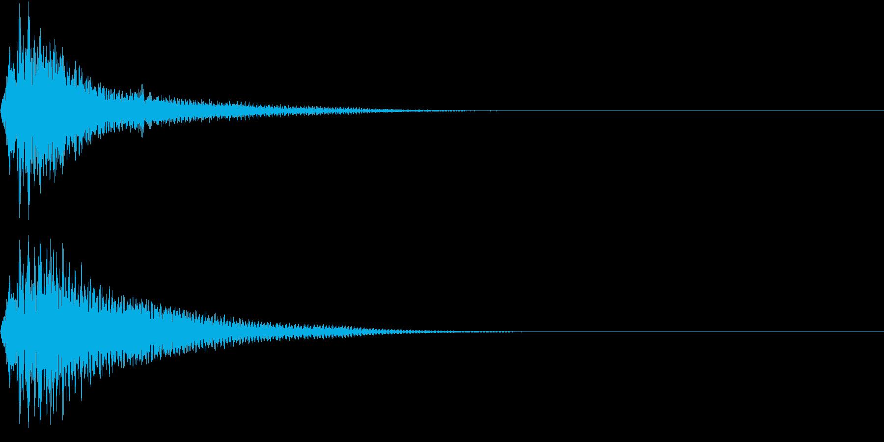 KAKUGE 格闘ゲーム戦闘音 52の再生済みの波形
