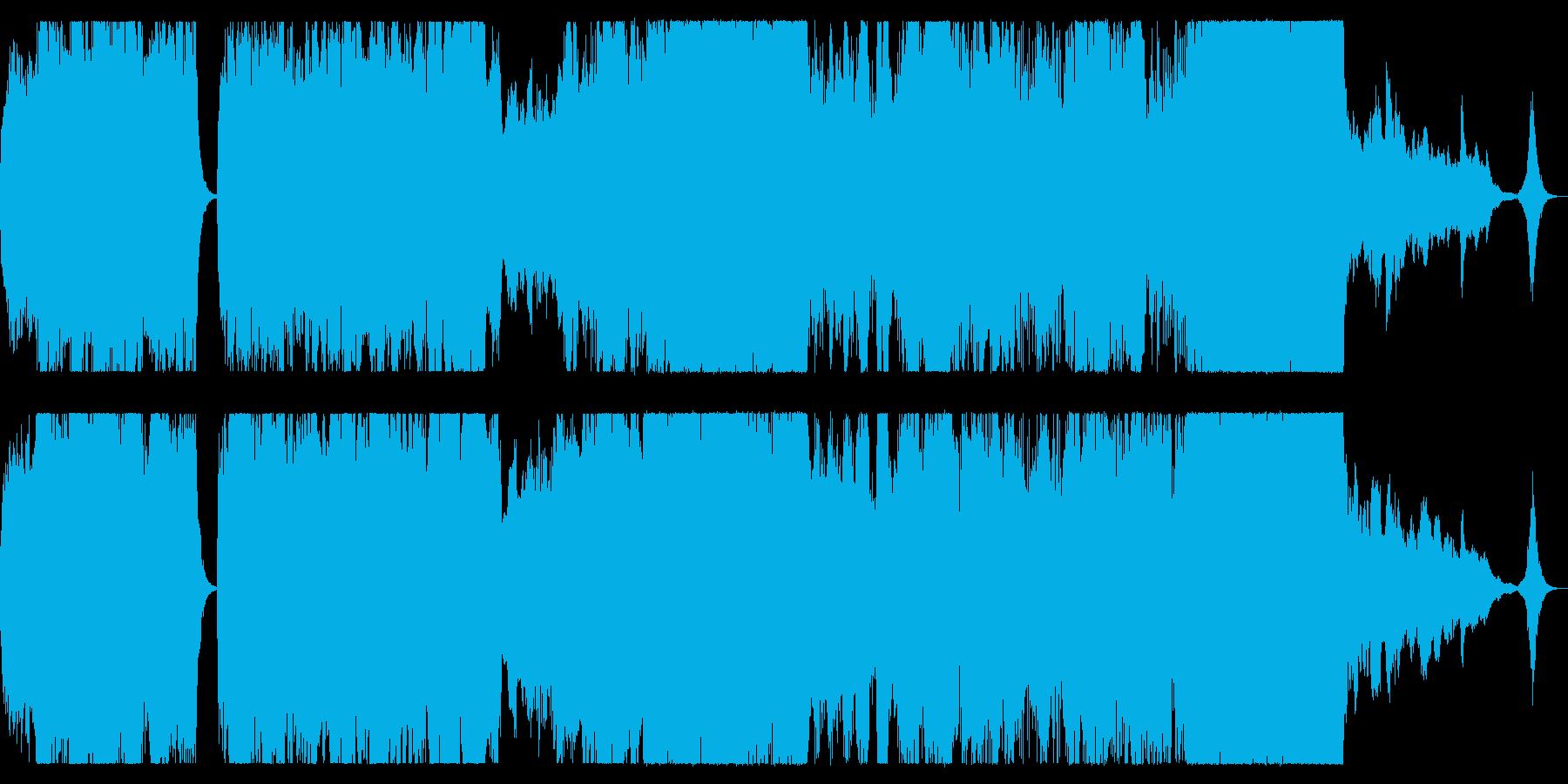 ダークファンタジー、SF向けオーケストラの再生済みの波形
