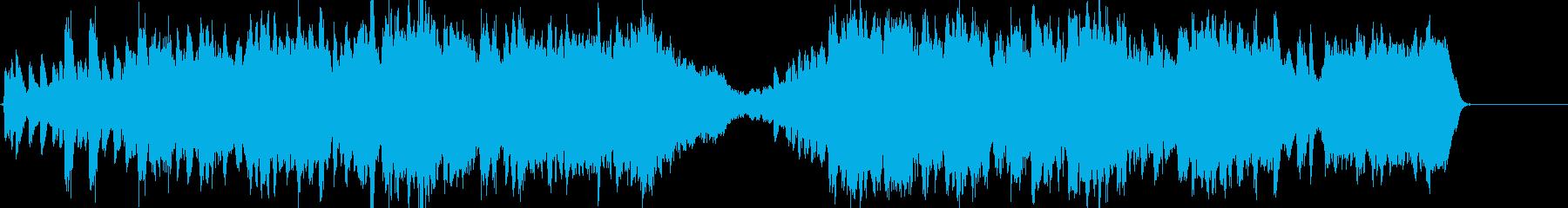 バロック風 上品なクラシックの再生済みの波形