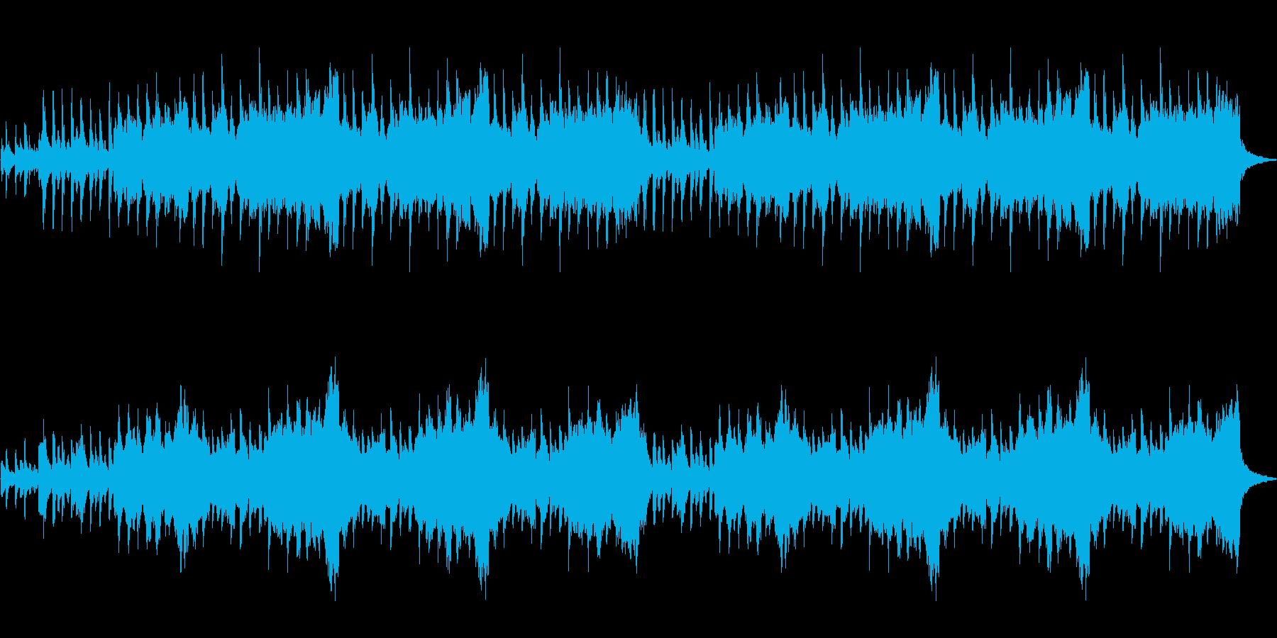 ピチカートオーボエクラリネットの優しい音の再生済みの波形