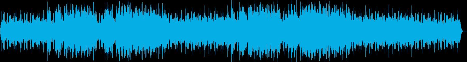 不気味なシンセ・オルガンサウンドの再生済みの波形