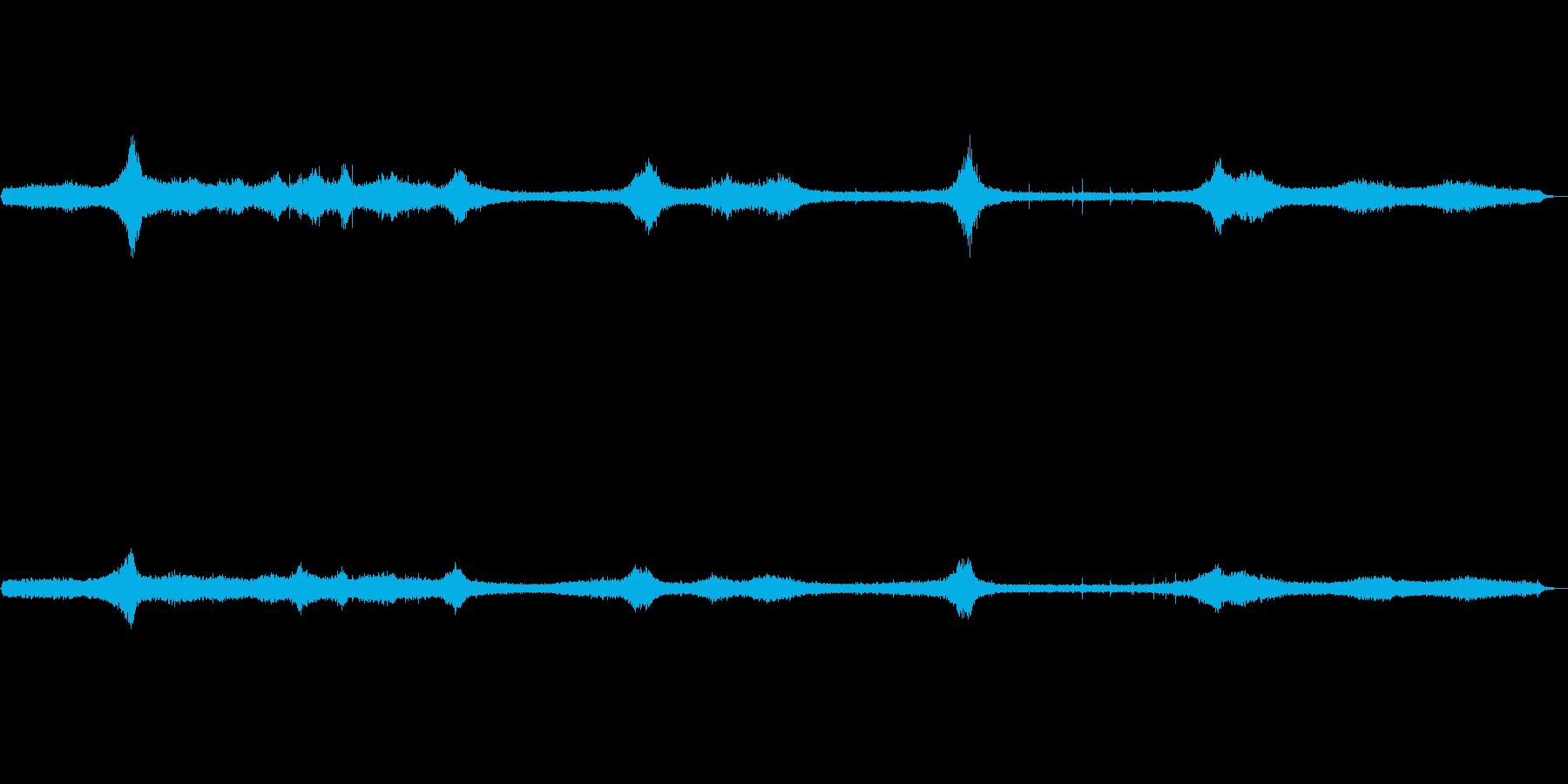 環境音 交差点の再生済みの波形