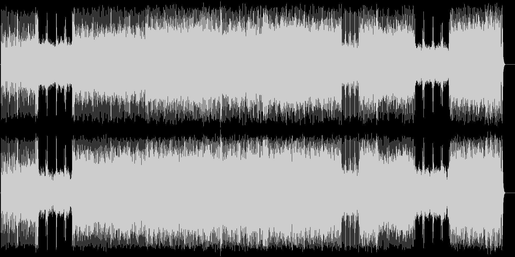 白熱のファイナル・カウント・ダウンの未再生の波形