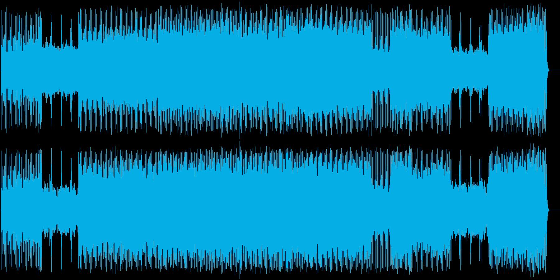 白熱のファイナル・カウント・ダウンの再生済みの波形