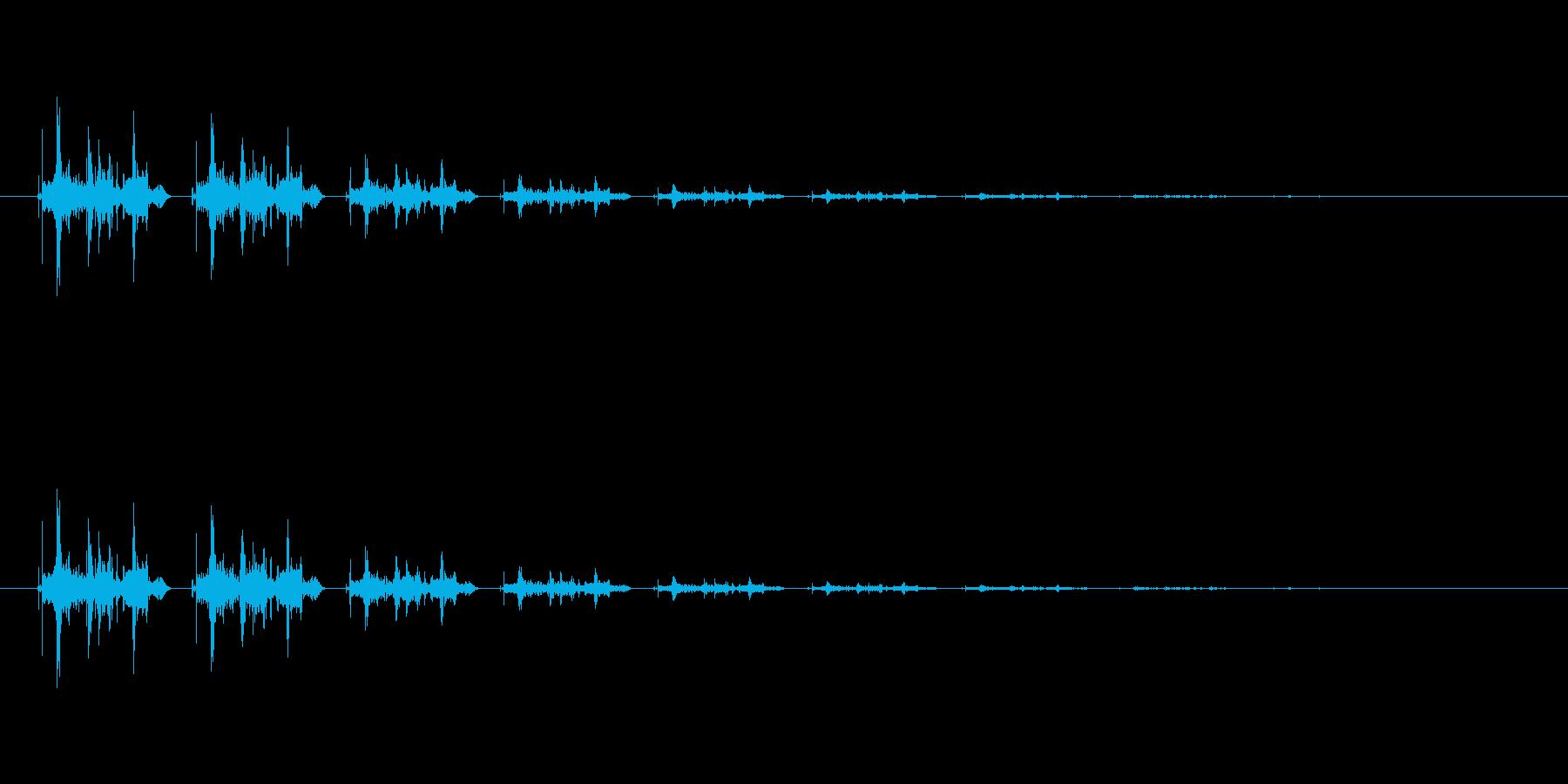 【骨折02-5】の再生済みの波形