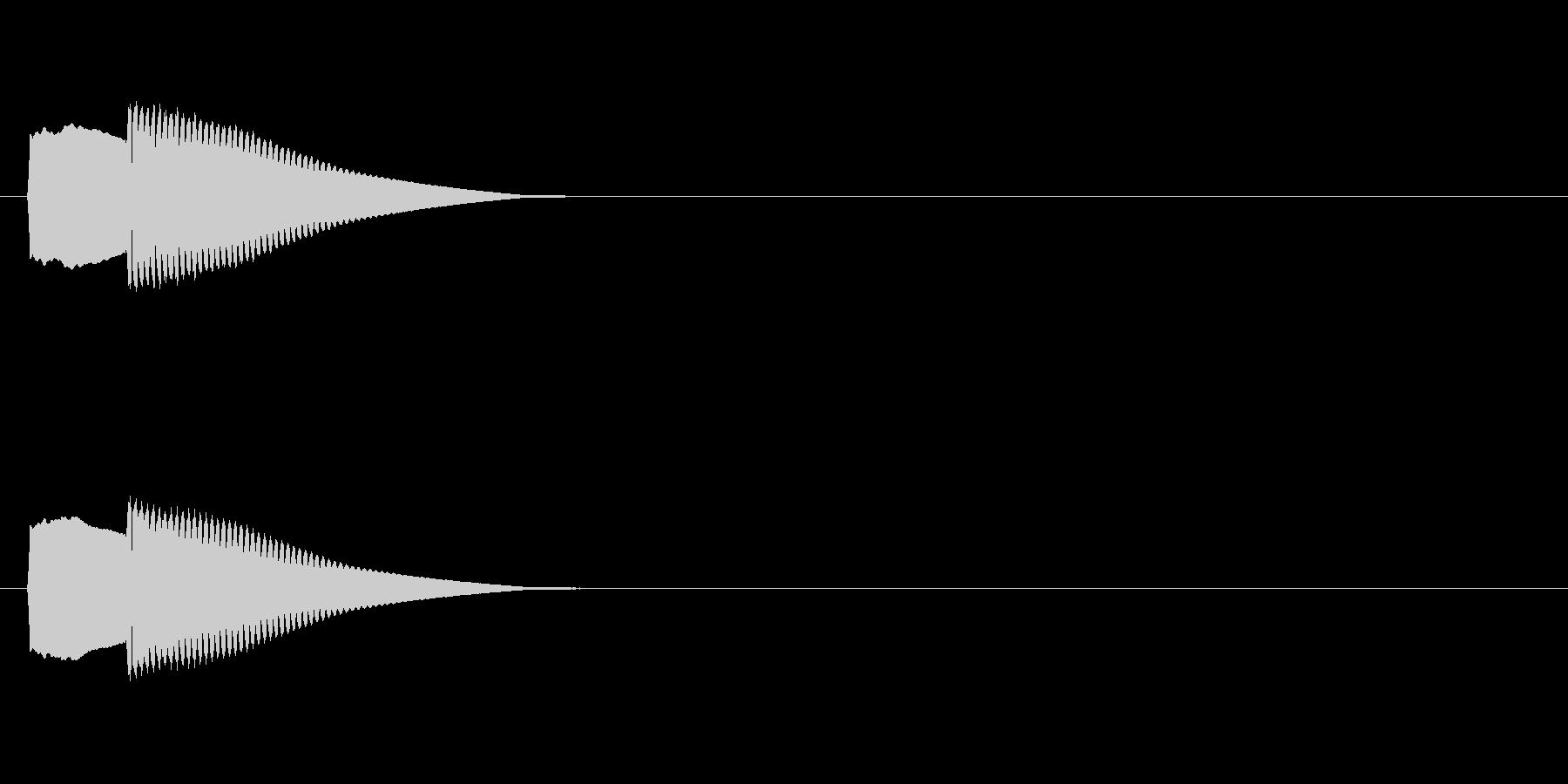 【正解02-1】の未再生の波形