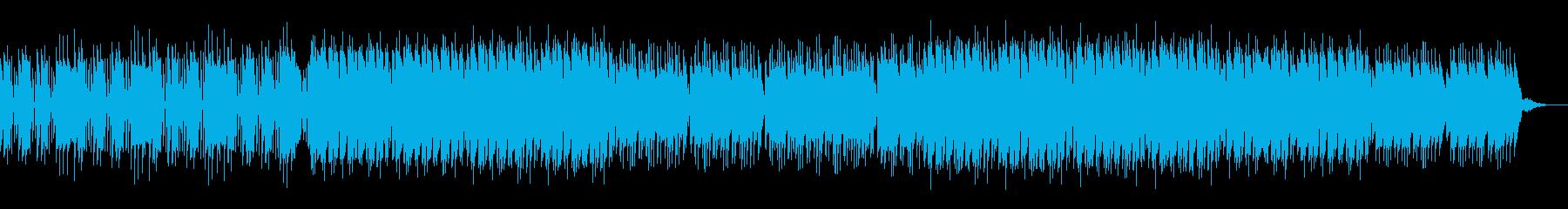レース、ゲーム系 スピード感ある楽曲の再生済みの波形