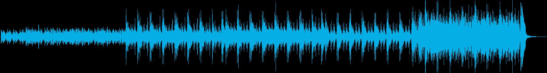 異国情緒あふれるケルト民謡の再生済みの波形