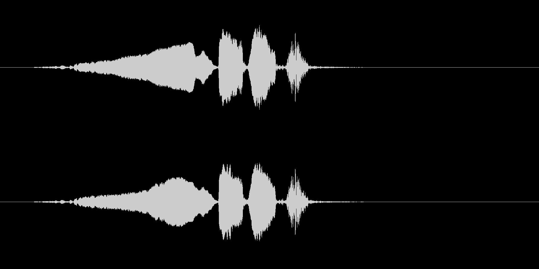 【ウグイス 合成01-1】の未再生の波形