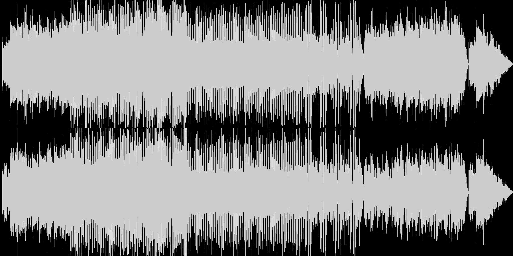 電子楽器とストリングスが絡み合うスリリ…の未再生の波形