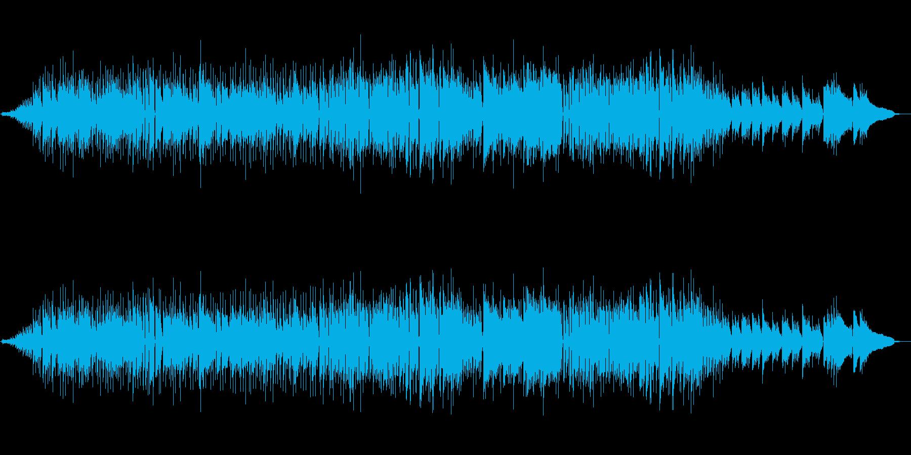 邪魔にならない明るいボサノバ 天気予報の再生済みの波形