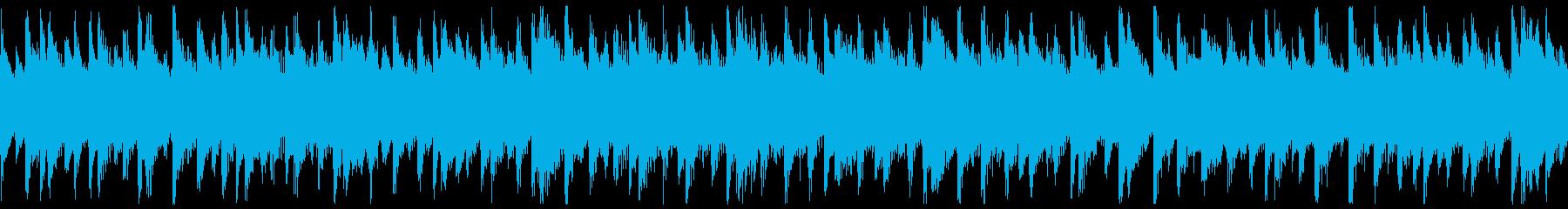 西アフリカ リュート型弦楽器 アップ2の再生済みの波形