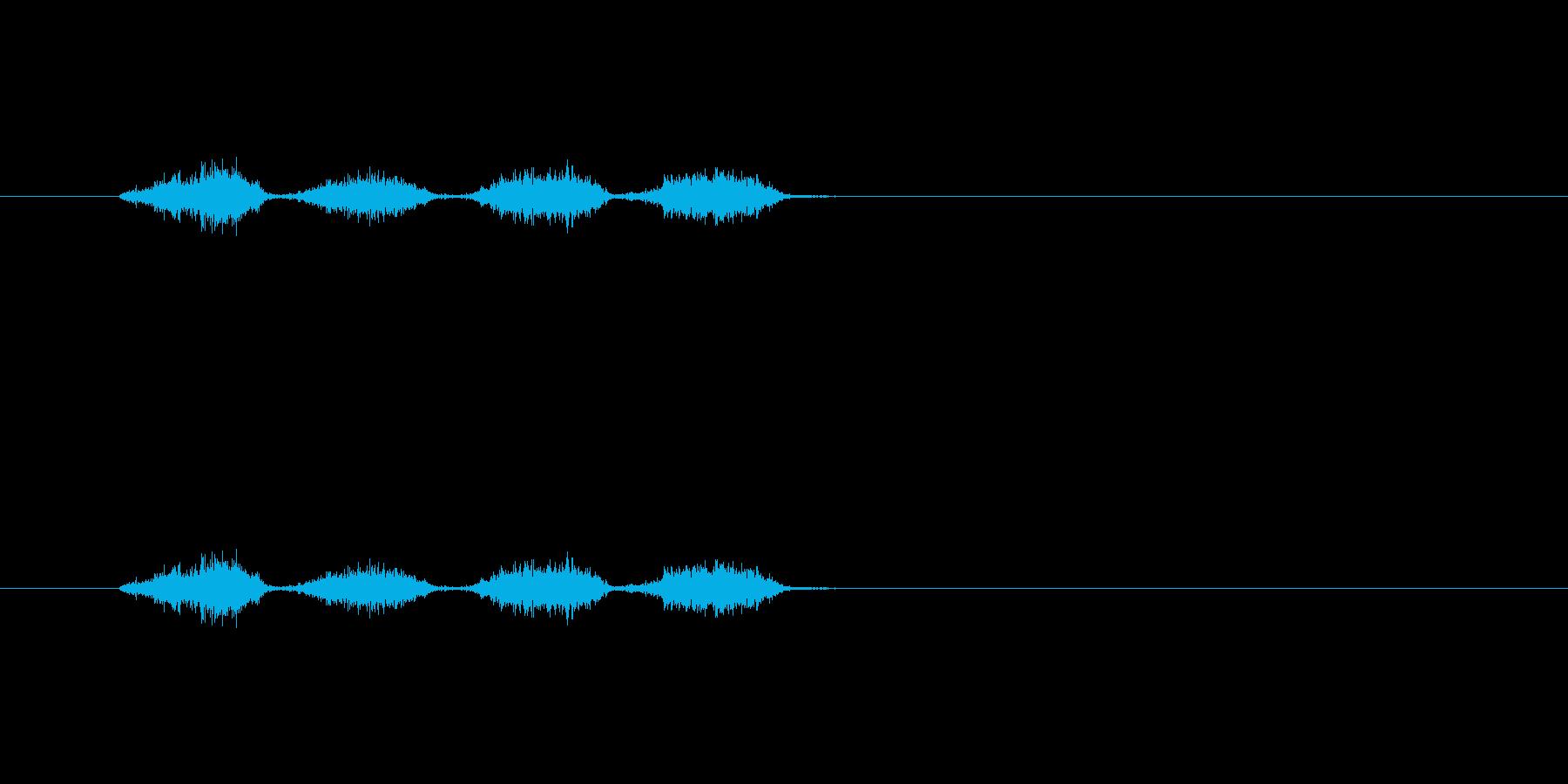【消しゴム01-1(こする)】の再生済みの波形