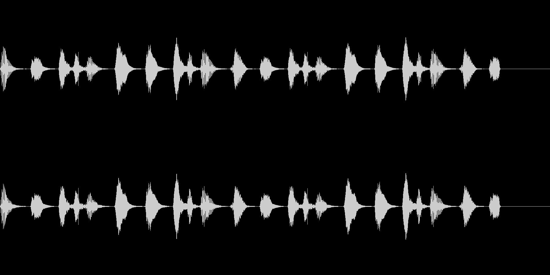 【SE 効果音】ラッパの未再生の波形