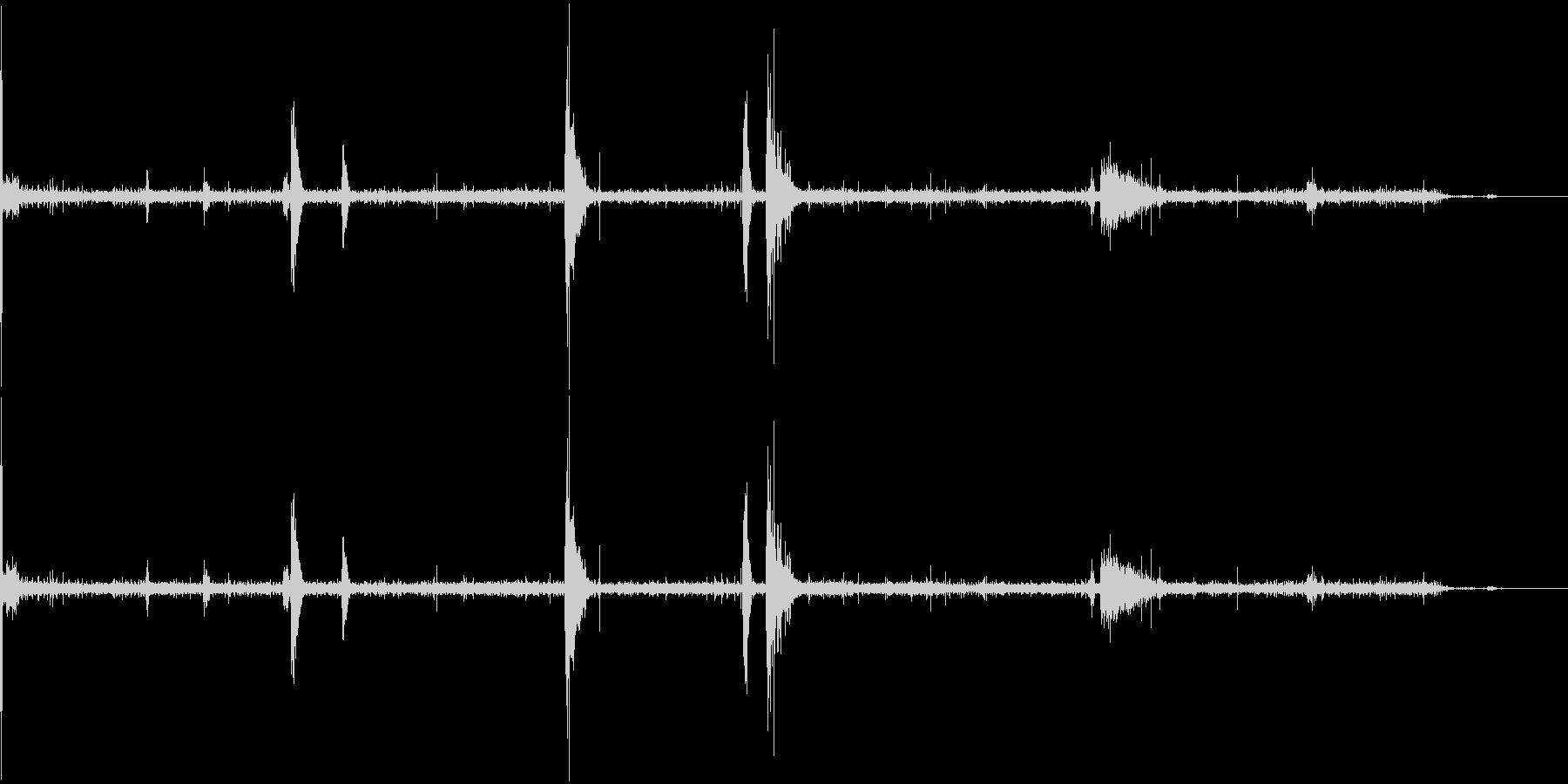 【SE 効果音】不気味な音5の未再生の波形