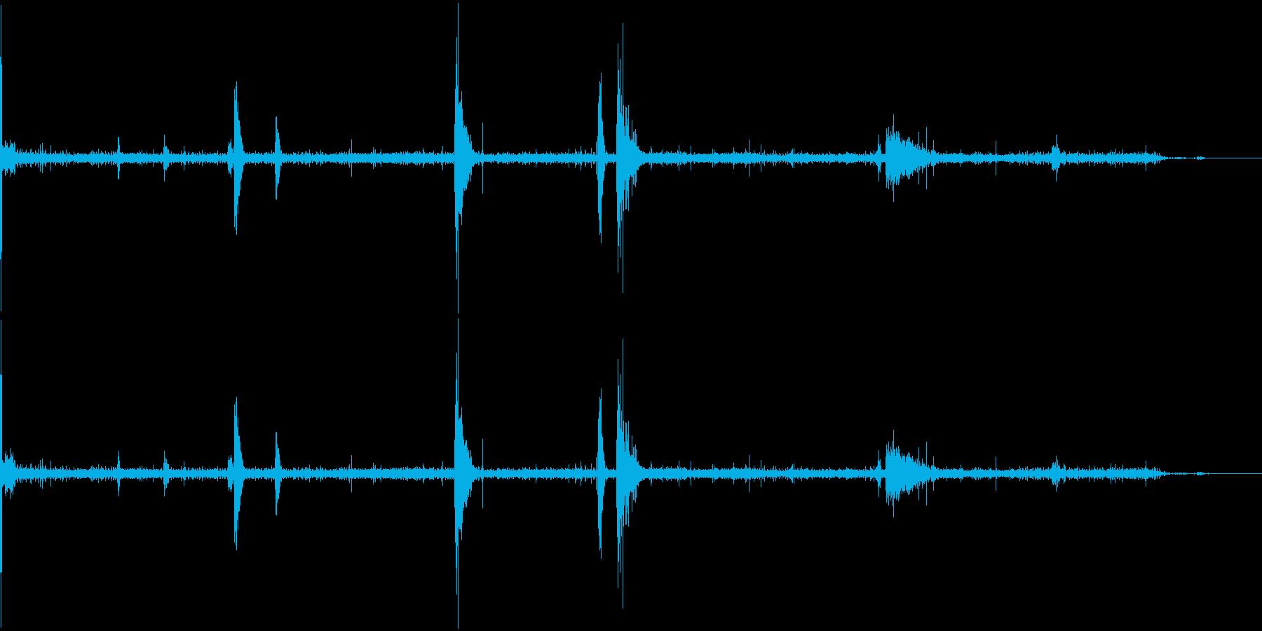 【SE 効果音】不気味な音5の再生済みの波形