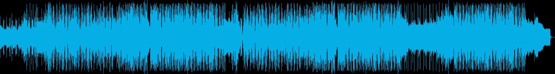 ヒップホップ風のリズムのR&Bバラード3の再生済みの波形