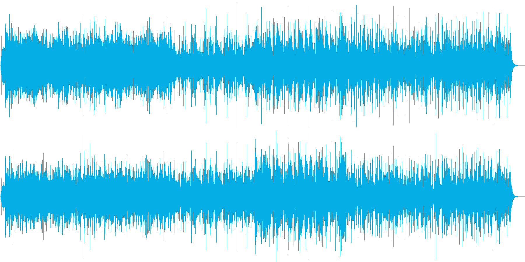 【CM・PV】明るい雰囲気の優雅な曲調の再生済みの波形