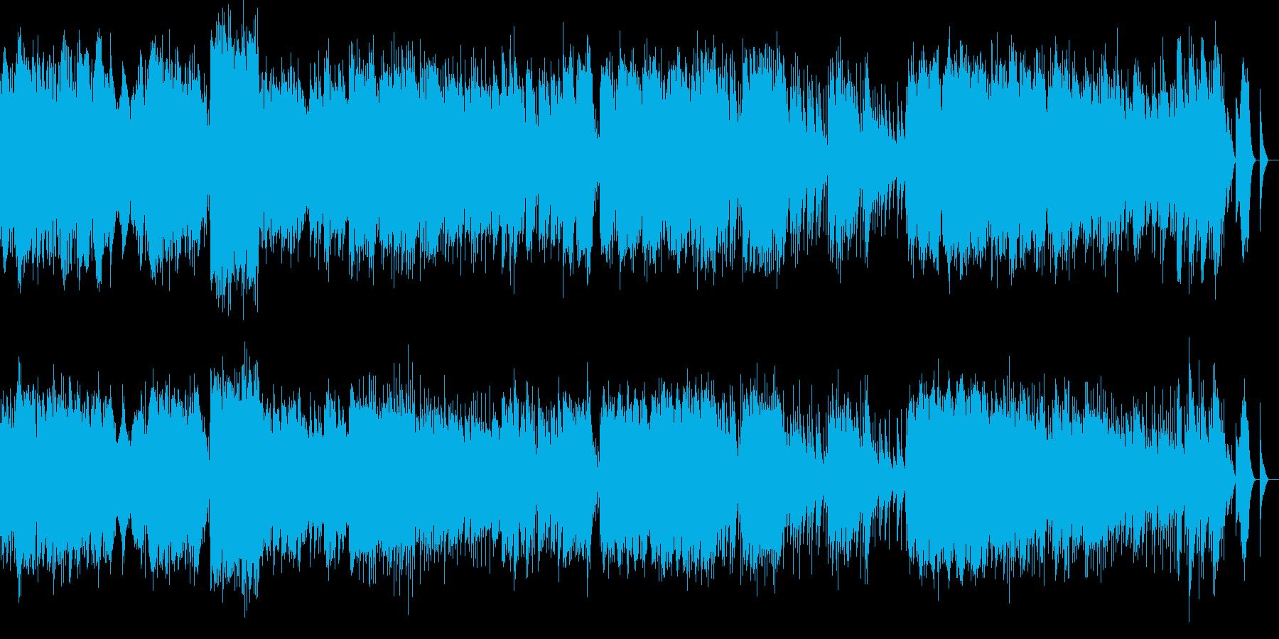 ベルガマスク組曲 メヌエット オルゴールの再生済みの波形