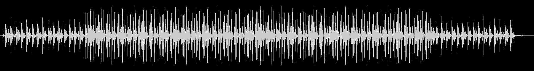 映像音楽等に。ほのぼのピアノポップの未再生の波形