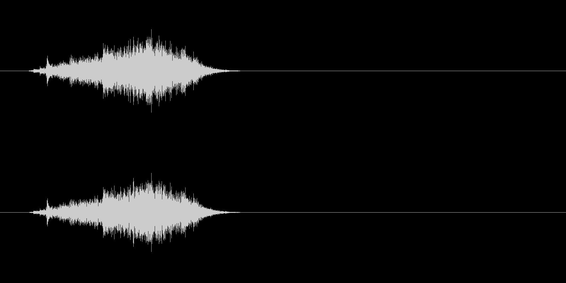 【カーテン01-2】の未再生の波形
