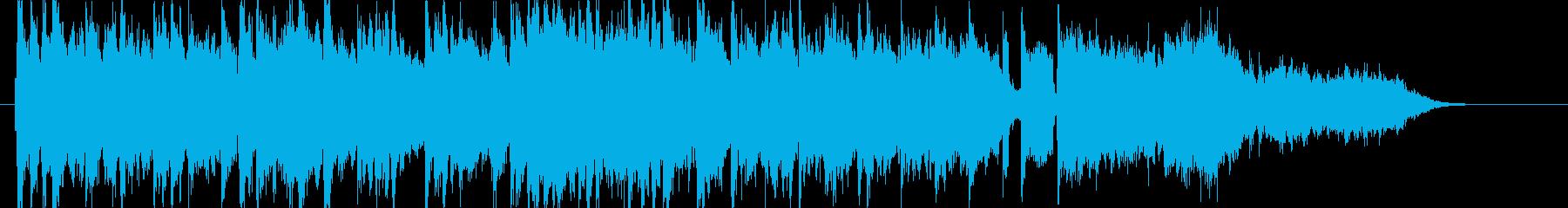 感動的で壮大なシンセ・管楽器・ピアノ短めの再生済みの波形