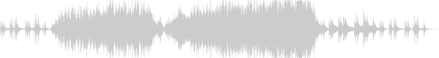 しっとり幻想的なエレキ・アコギメロディの未再生の波形